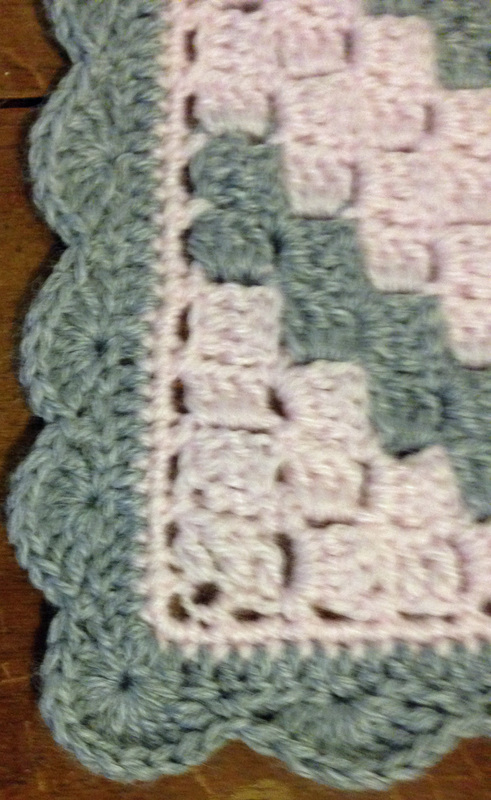 How To Put A Border On A C2c Storer Bought Creations